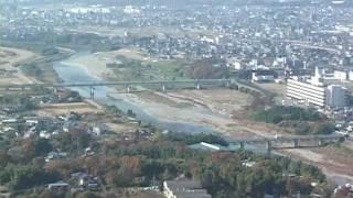 東谷山(とうごくさん) 198.3m (愛知県瀬戸市) 2003年 12月2日の映像...