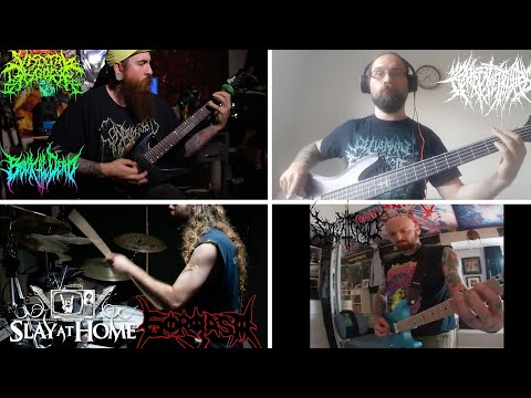 THE BLACK DAHLIA MURDER Cover by Splattered + Gorgasm + Visceral Disgorge + More | Metal Injection