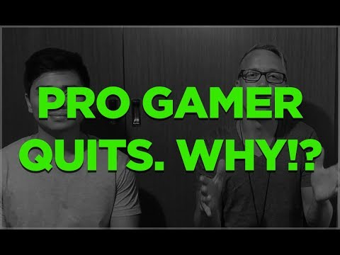 ProGamer Opens up About Why He Quit Professional Gaming