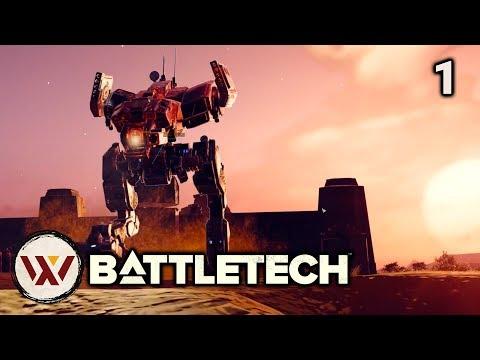 Better Start! s3e1 - LIGHT MECH ONLY Battletech Campaign. Let's Play Battletech Gameplay