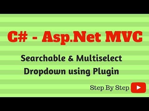 C# ASP NET MVC Searchable & Multiselect Dropdown using Chosen Plugin