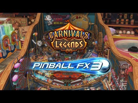 Pinball FX3 – Carnivals & Legends Pack is free on Xbox One