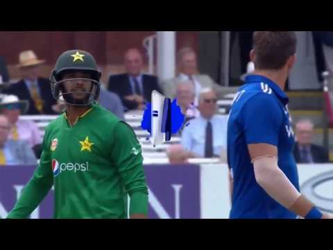 Funny Fight Imad Wasim with Plunkett (Must Watch)