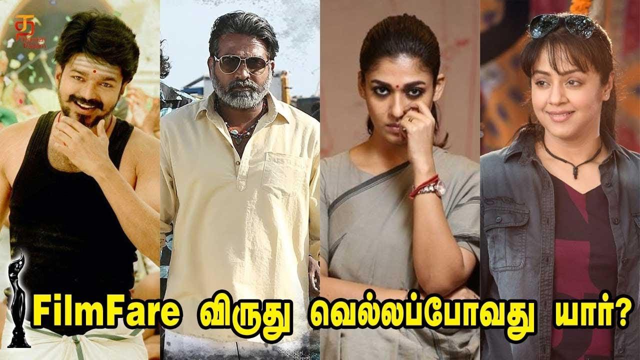 Filmfare Awards 2018 Nominations | Tamil nominations for the 65th Filmfare  Awards | Thamizh Padam