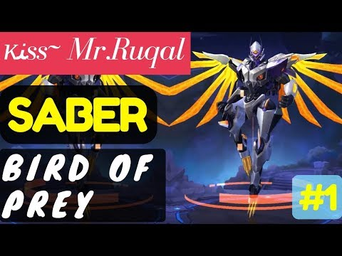 Bird of  Prey [Rank 3 Saber]   Saber Gameplay and Build By ĸﻨss~ Mr.Ruqal #4 Mobile Legends