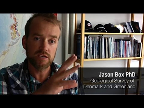 Jason Box on Greenland Melt 2016