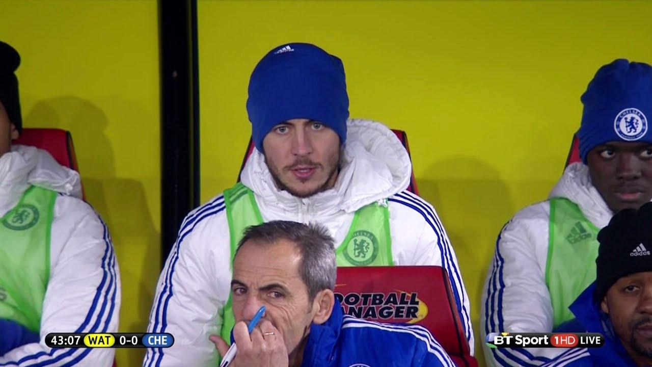 Download Eden Hazard vs Watford (Away) 15-16 HD 720p - English Commentary