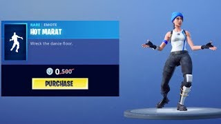 New Free Dance Emote (Hot Marat)! - Fortnite Battle Royale