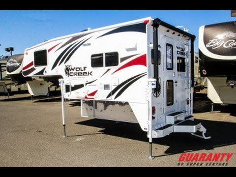 Awesome 2017 Northwood Wolf Creek 840 Truck Camper Video Tour  Guarantycom