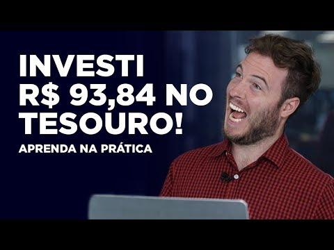 INVESTI R$93,84 NO TESOURO SELIC! Aprenda a investir NA PR脕TICA!