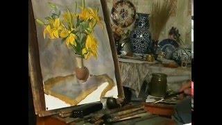Сергей Андрияка - Рисуем желтые лилии. Мастер класс. 2001 г.