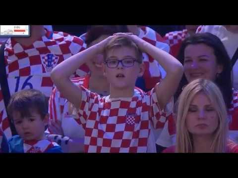 Slovenija - Hrvaška - SP 2017 - zadnjih 12 minut - 2. del