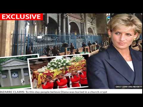 Princess Diana 'secretly buried in crypt': Bizarre claims body NOT on family estate
