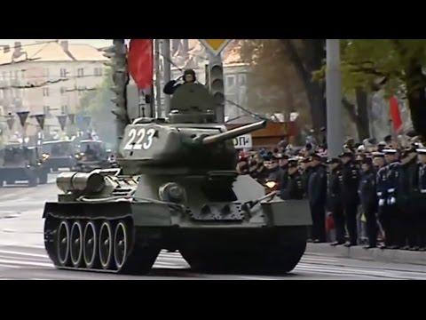 Kaliningrad  Russia Victory Parade 2017