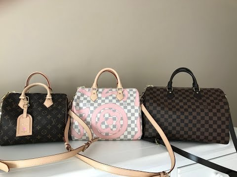 Louis Vuitton Speedy B 25, 30, & 35 Comparison/Review 2017