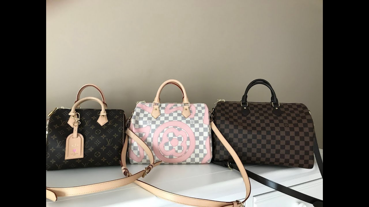 da71760326a1 Louis Vuitton Speedy B 25, 30, & 35 Comparison/Review 2017 - YouTube
