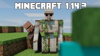 Minecraft 1.14.2, 1.14.3: NOVÉ IRON GOLEM FARMY, ZMĚNY PILLAGERŮ
