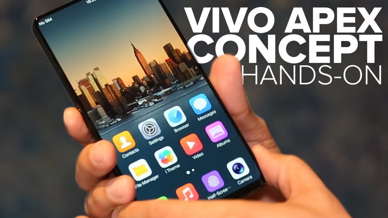 14d257148 Vivo Apex concept phone has a pop-up selfie camera - YouTube
