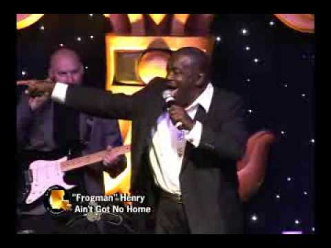 LMHOF member Clarence 'Frogman' Henry performs Aint Got No Home at LMHOF Legends LIVE!