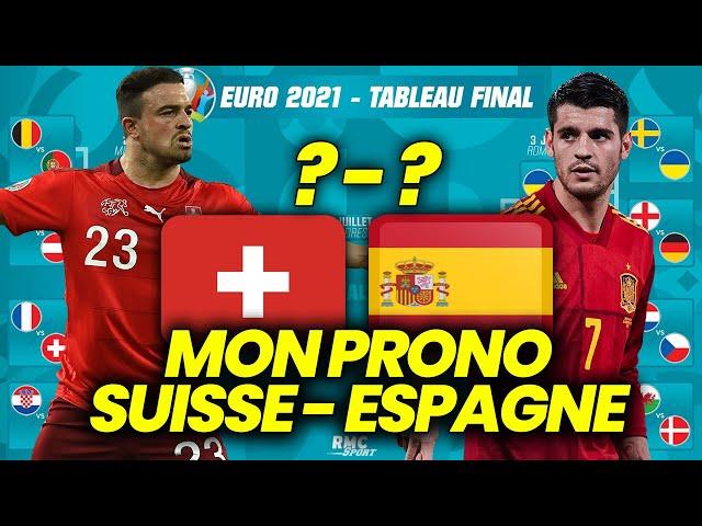 PRONOSTIC EURO 2021 ESPAGNE SUISSE : Pourquoi l'Espagne va éliminer la Suisse ?