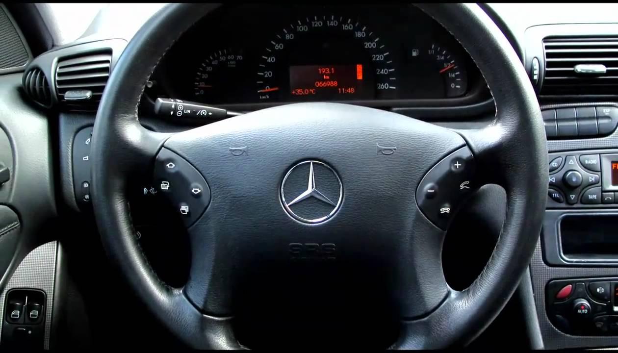 2001 Benz C320 Avantgarde Youtube