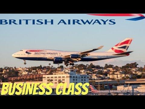 Flying The BRITISH AIRWAYS BOEING 747 San Diego to London