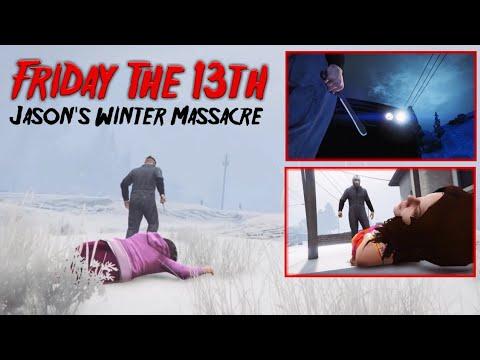 Friday The 13th. Jason's Winter Massacre ~ A GTA Rockstar Editor Cinematic