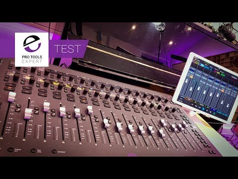 Up Close And Personal With The Avid Eucon S3 Control Surface