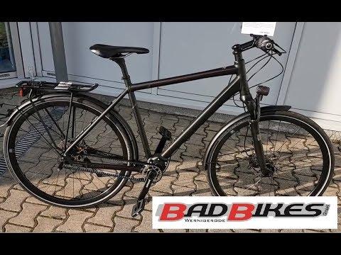 Kalkhoff Endeavour P18 Pinon Trekking Bike 2017 magicblack matt