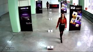 Тестовая видеозапись с AHD камер XVI серии xC91xx