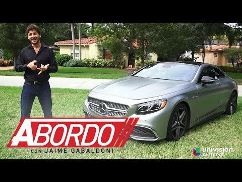 Mercedes-Benz S Class Coupe 2015 - Prueba A Bordo [Full]