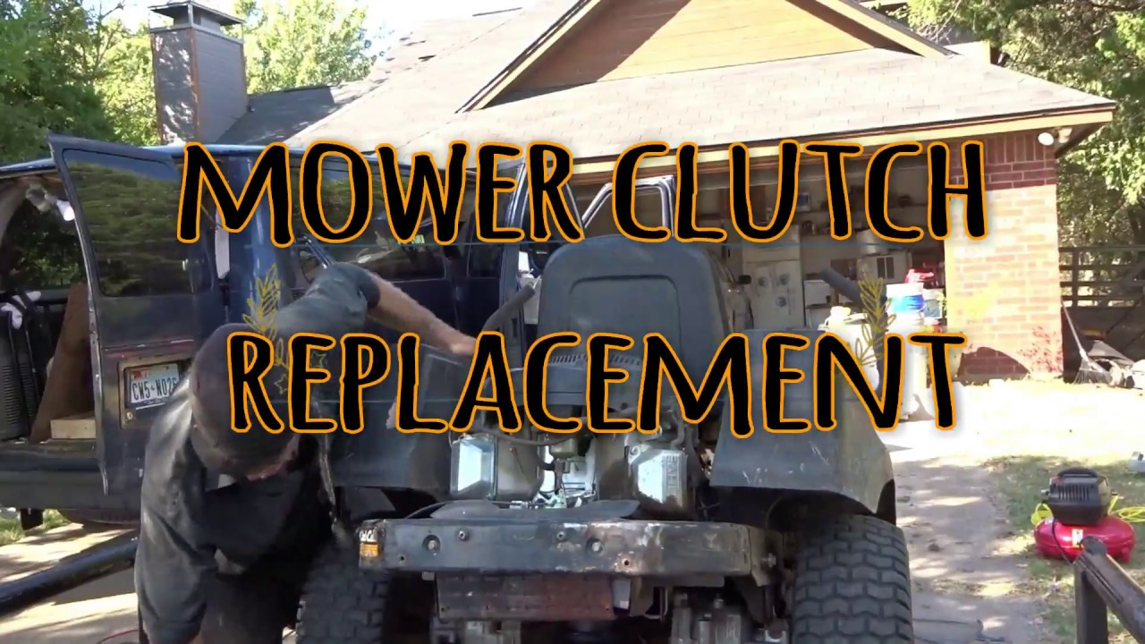 Cub Cadet Ztr Clutch Replacement Youtube Rzt42 Schematics