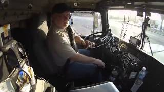 Floating gears in a Big Rig / Truck Driver Training / Grey Wolf 96441