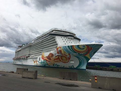 Norwegian Getaway at Helsinki 6.7.2017