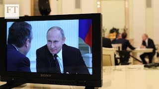 Liberalism \'has outlived its purpose\' — President Putin speaks exclusively to the Financial Times