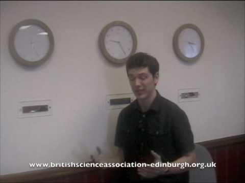 Time Travel: Fergus Simpson speaking for British Science Association, Edinburgh, UK