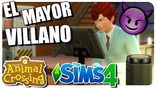 SURFÍN, EL CIENTÍFICO VILLANO #04 #ANIMALCROSSIM | SIMS + ANIMAL CROSSING