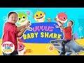 Baby Shark Dance Challenge | Uyyus Joget Baby Shark ✿ Lagu Iwak-iwakan