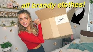 HUGE Try-On Brandy Melville Haul! | Summer Mckeen