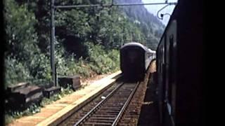 Treno  sulla vecchia  Pontebbana