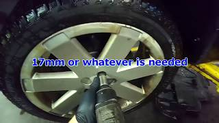 Audi 8N TT: Drive shaft removal for replacement