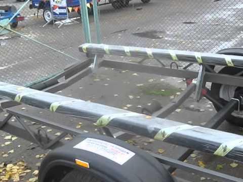 Прицеп двухосный грузовой для легковых автомобилей AvtoS AF31NB .