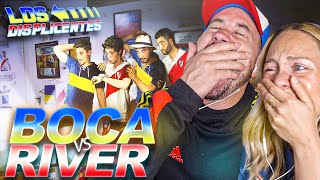 Españoles REACCIONAN a la FINAL 2018 BOCA vs RIVER Ft Los Displicentes