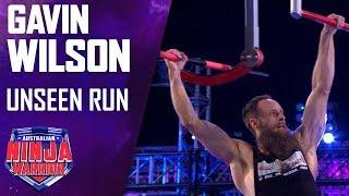 Gavin Wilson's Unseen Run | Australian Ninja Warrior 2019