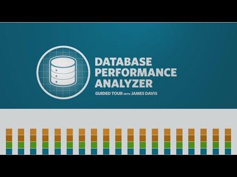 Database Performance Analyzer Guided Tour