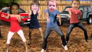 Malu, Rafaella, Victor e Dudu dançando Tche, tche, rere...20/07/2012