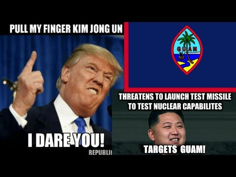 North Korea plans 4 missile launches to our Island of GUAM 8-15-17?