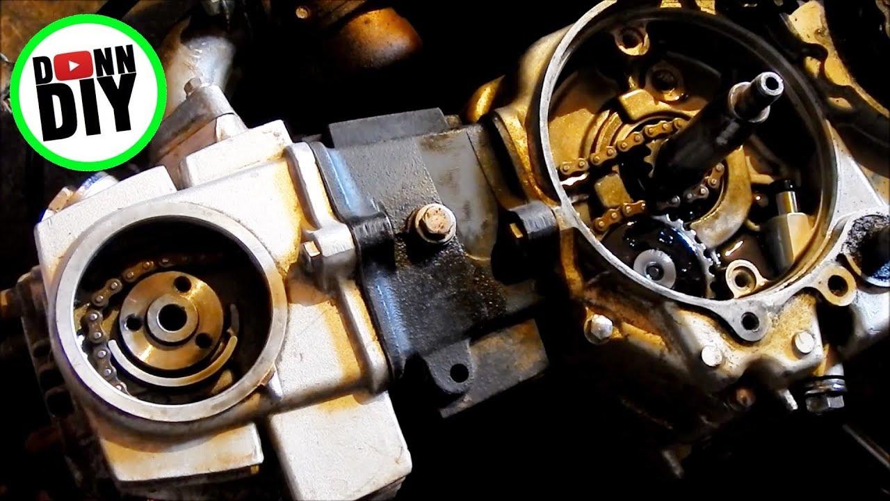 cam chain replacement cam timing 110 cc horizontal engine honda lifan loncin zongshen  [ 1280 x 720 Pixel ]