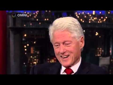 Bill Clinton on David Letterman 5/12/2015 Full Interview
