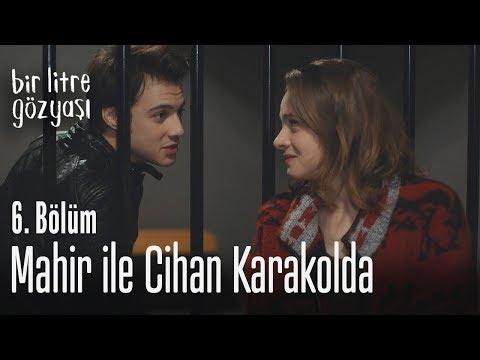 Mahir ile Cihan karakolda - Bir Litre Gözyaşı 6. Bölüm